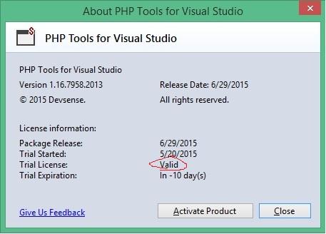 دانلود کرک php tools v1.16.7958