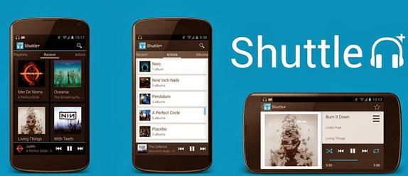دانلود موزیک پلیر شاتل پلاس اندروید Shuttle+ Music Player 1.5.9