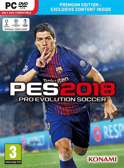 دانلود کرک بازی PES 2018 برای PC